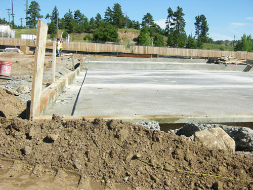 Foundations for Self Storage