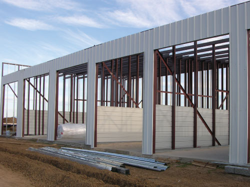Construction For Self Storage Units