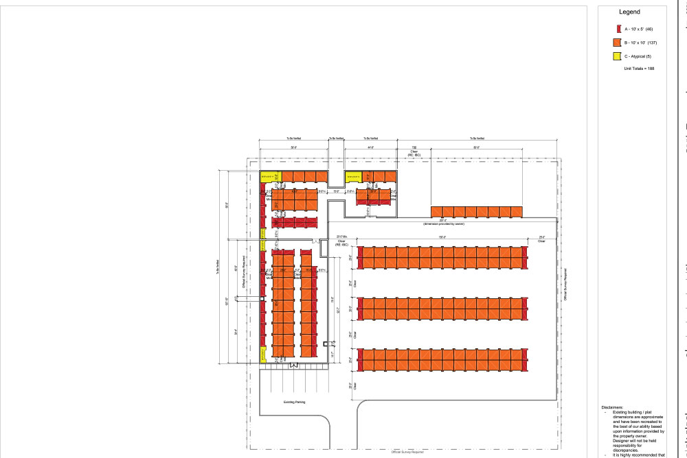 One Acre Site Plan