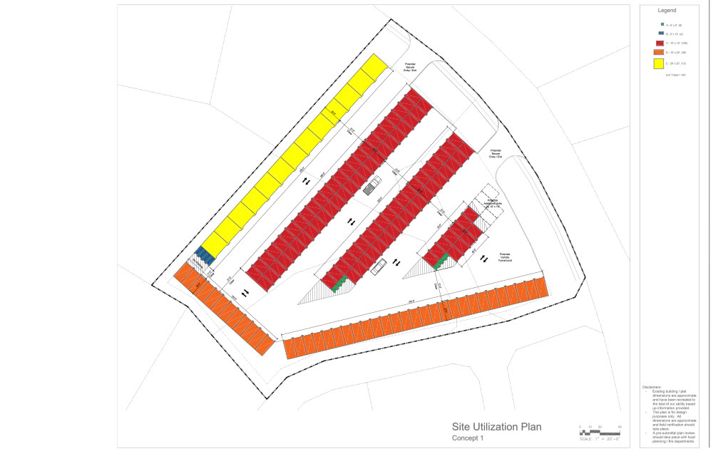 Two Acre Site Plan