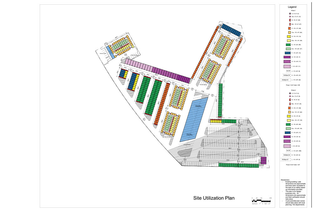 Eight Acre Site Plan