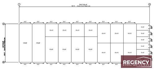 Custom Self-Storage Floorplans
