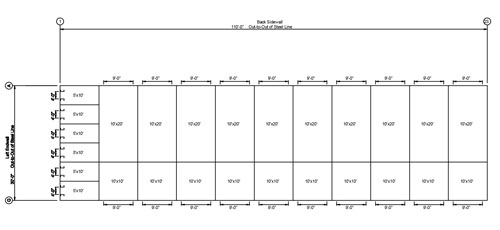 Mini Storage Building Floor Plan