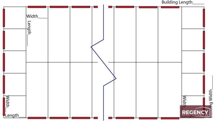 Equal Units Back to Back Floorplans