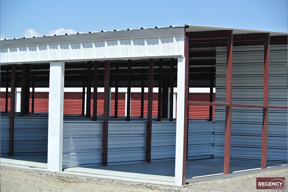 Constructing Mini Storage Building