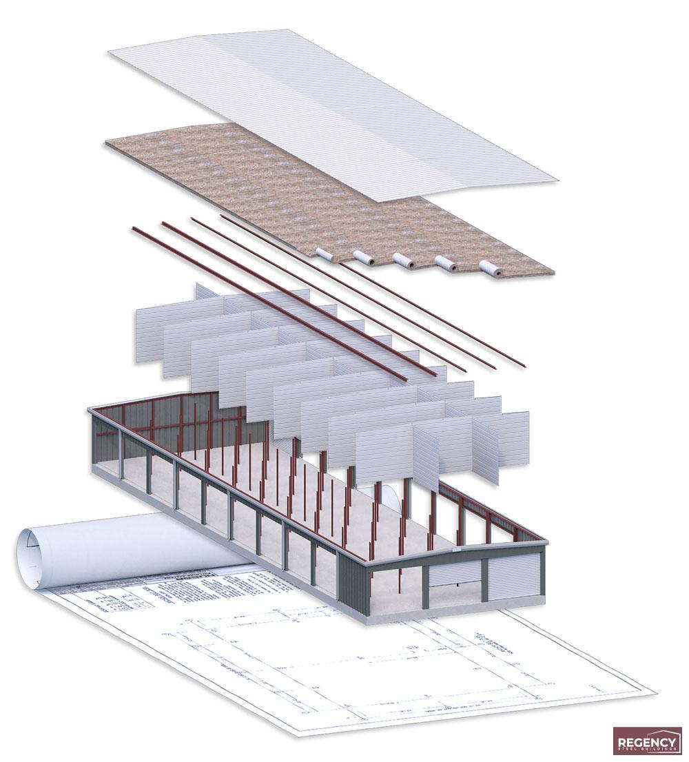 Storage Building Components