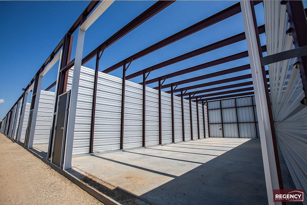 Storage Building Erection Process