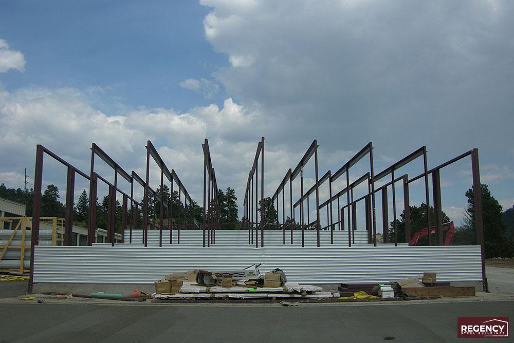 Self-Storage Building Framing