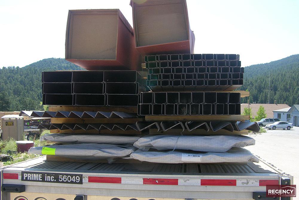 Storage Building Shipment